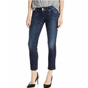 Hudson Collin Flap Skinny Crop Jeans Size 26